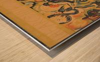 The Architects Present Wood print