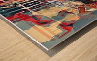 Street art Bond 1  Wood print