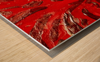 Covid strain.5137 Wood print