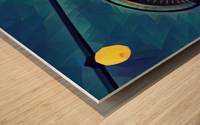 seattle space needle Wood print