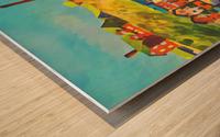 cincinnati mount adams incline Wood print