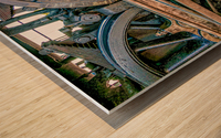 Strasburg 17 Wood print