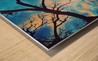 broken beauty Wood print