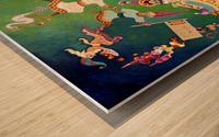 1992 043 Wood print