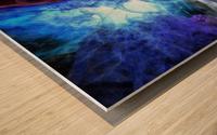 The Lovers Pool Wood print