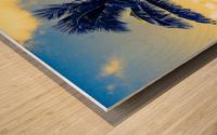 palm color 4 Wood print