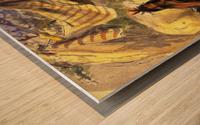 Pawnee Indian Camp Wood print