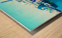 Seattle Morning Wood print