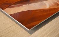 Beautiful Antelope Canyon Panoramic View Wood print