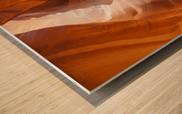Beautiful Antelope Canyon Wood print