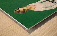 Olivetti poster Wood print