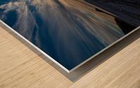 La Bloc Sunset Wood print
