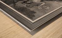 Mrs. Abington as Thalia by Engraver Francesco Bartolozzi Classical Art Old Masters Reproduction Wood print