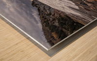 Surf at Pillar Rock Wood print