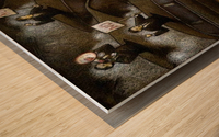 unrest Wood print