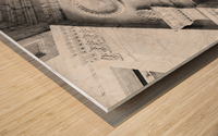 Decorating the City Wood print