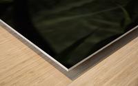 High Detail  Green Boa  Wood print