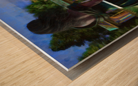The Tranquil Span Wood print