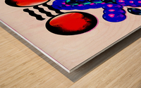 Hado Energy 14 Wood print