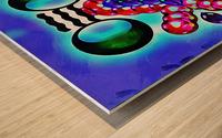 Hado Energy 7 Wood print