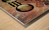 Hado Energy 20 Wood print