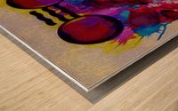 Hado Energy 19 Wood print