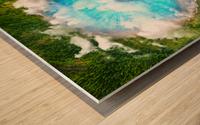 Dream Art XX Surreal Eye Lake Wood print