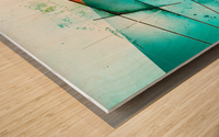 ABSTRACT ART BRITTO QB300 Wood print