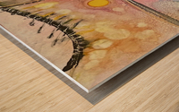 High Frequency  Wood print