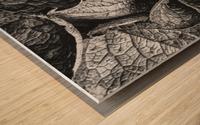 Garden Leaves Wood print