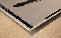 Liston-Range-Rear-Light-Delaware Wood print