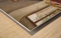 Der Zeitungsleser Wood print