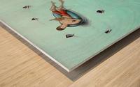 Sharks Impression sur bois