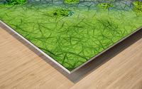 Green Paint Drops_120828_17039 HXSYV Wood print