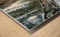 Frozen Moments Wood print
