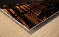 Cool Montreal Victoria Bridge Wood print