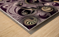 Hedonic Energy Wood print