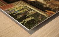 Chloe, Dulces Docta Modos et Citharae Sciens Wood print