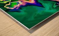hirarka  Wood print