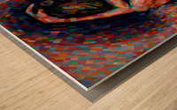 Roundism - 06-07-16 Wood print