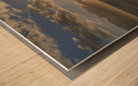 Lanai' Rise Wood print