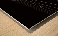 123 Wood print