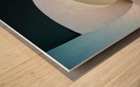 Top light Wood print