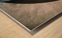 concrete wave Wood print