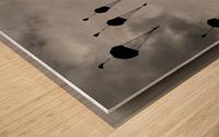 GO, GO, GO! Wood print