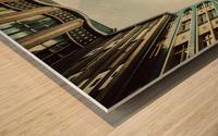 play it! Wood print