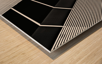 Fragile Symmetry Wood print