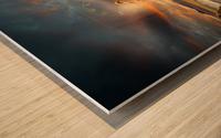 in my dreams ... Wood print
