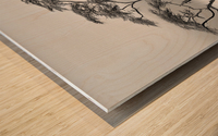 a very long story Wood print