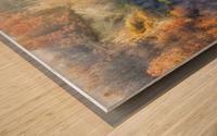 November colors Wood print